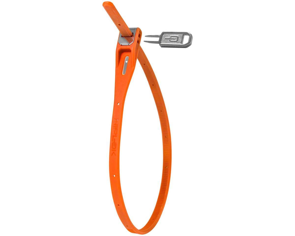 Hiplok Z-Lok Security Tie Lock Single (Orange)