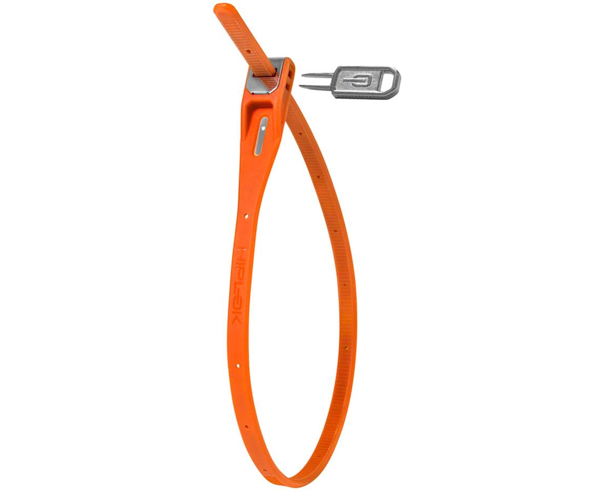 Hiplok Z-Lok Security Tie Lock Single (Orange)
