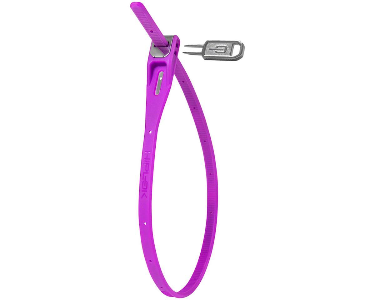 Hiplok Z-Lok Security Tie Lock Single (Purple)