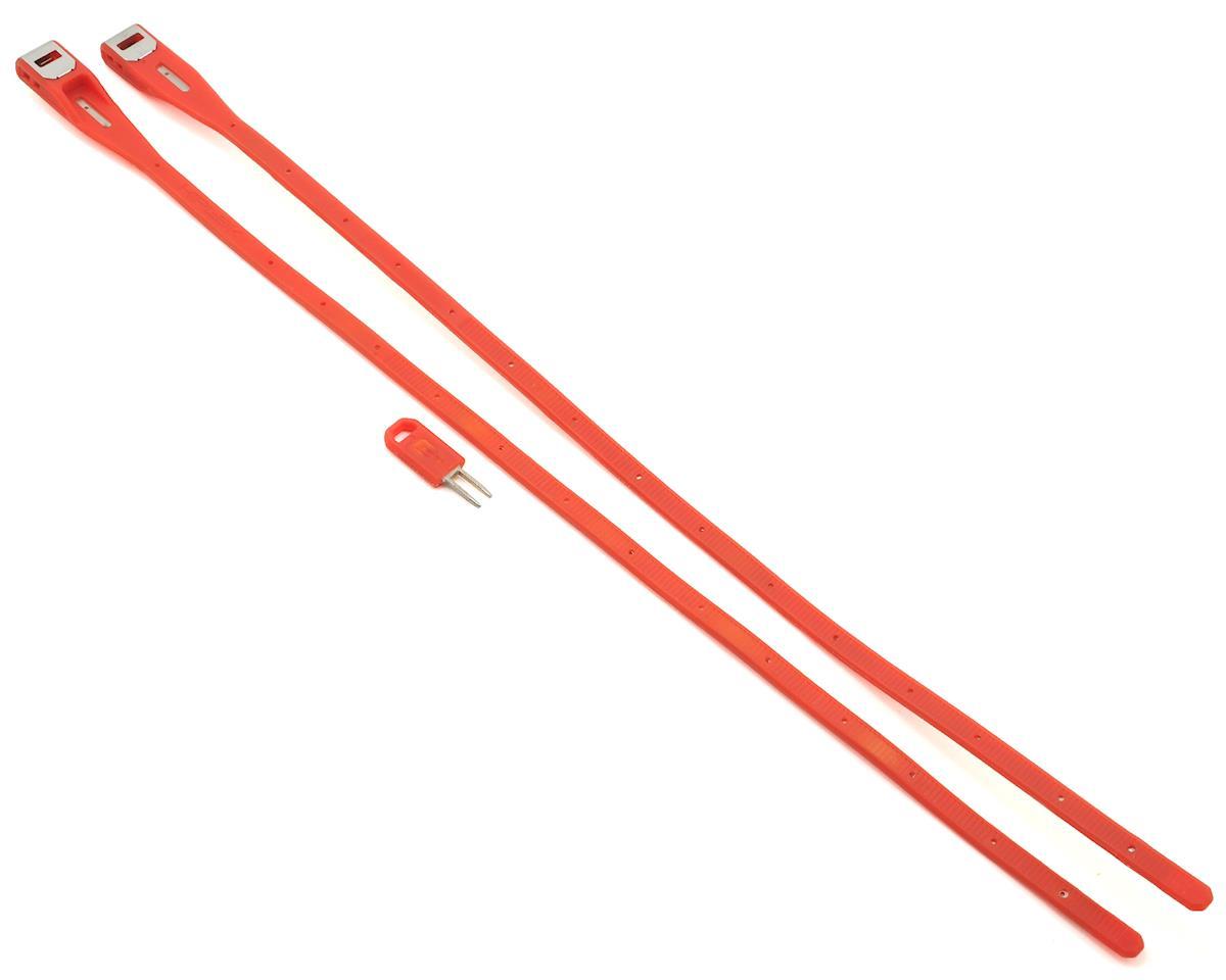 Hiplok Z-Lock Wearable Lock (2-Pack) (Red)