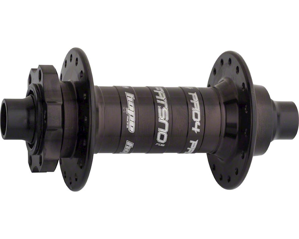 Hope Fatsno Pro 4 Front Fat Bike Hub Front Disc (Black) (32H) (15x142mm)