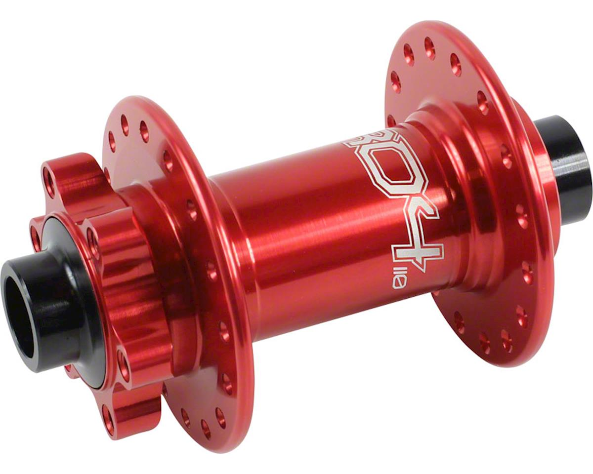 Hope Pro 4 Front Disc Hub (Red) (32H) (15mm Boost Axle)