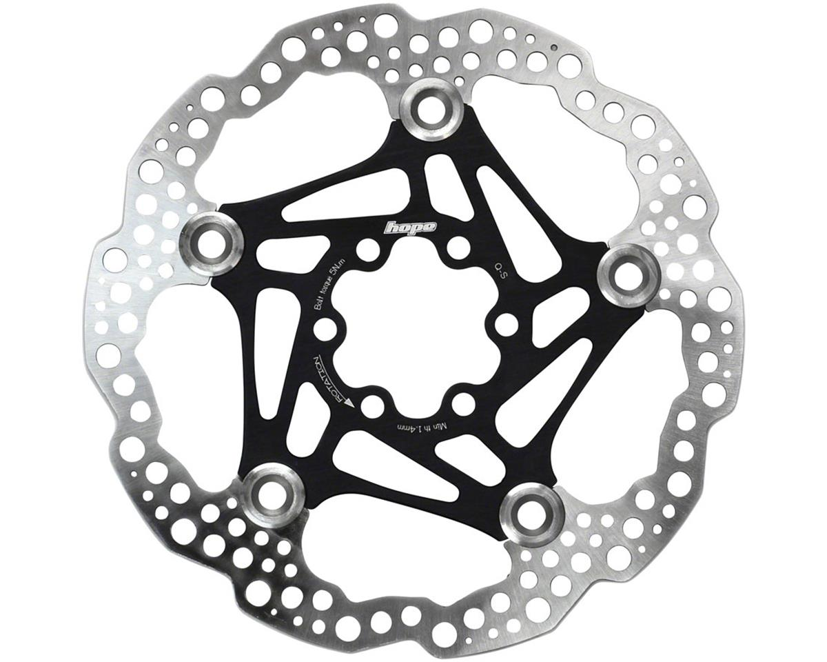 Hope Floating Disc Rotor (Black) (160mm)