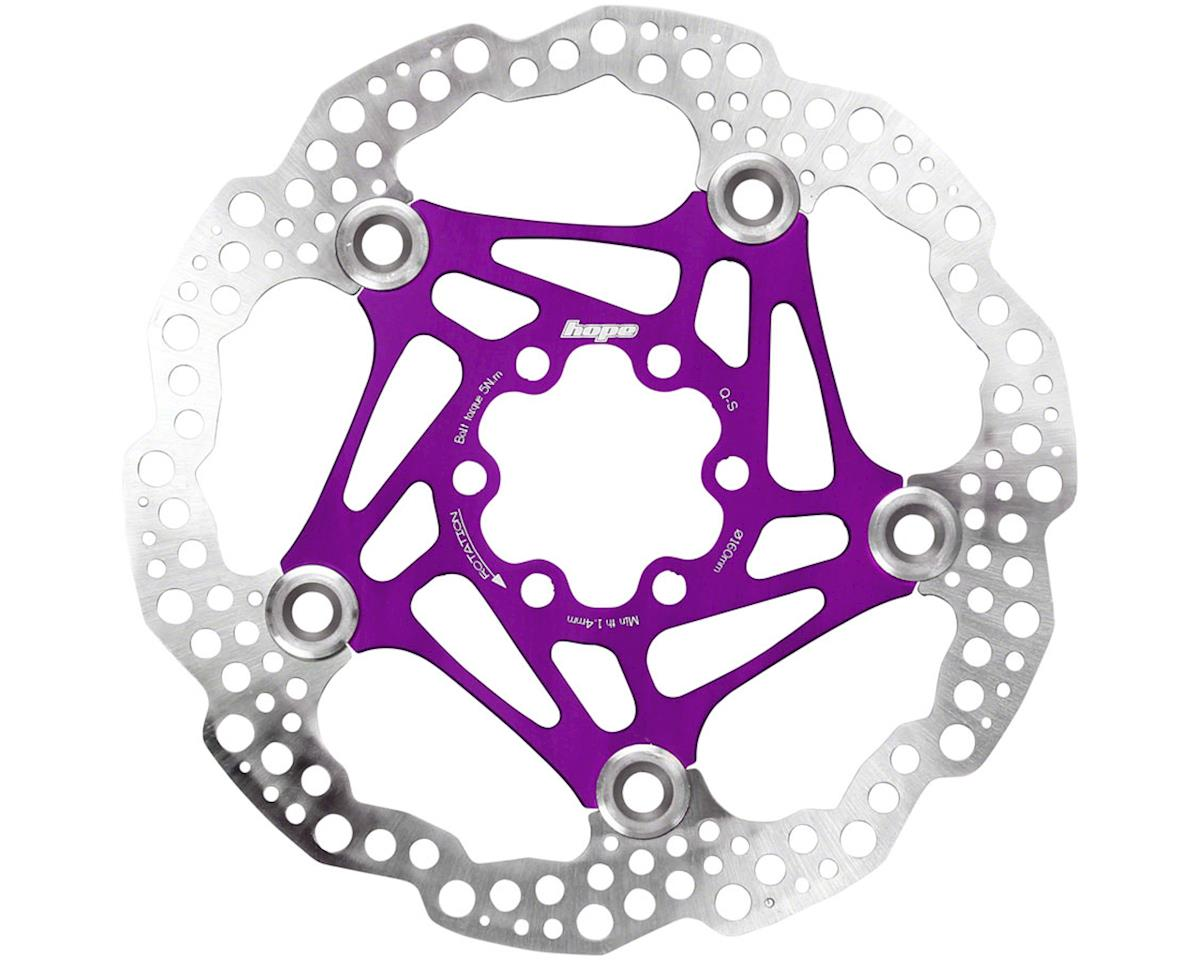 Hope Floating Disc Rotor (Purple) (160mm) | relatedproducts