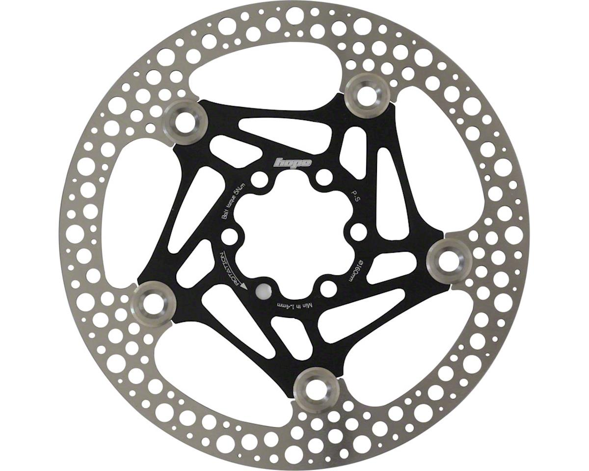 Hope Floating Road Disc Rotor (Black) (160mm)