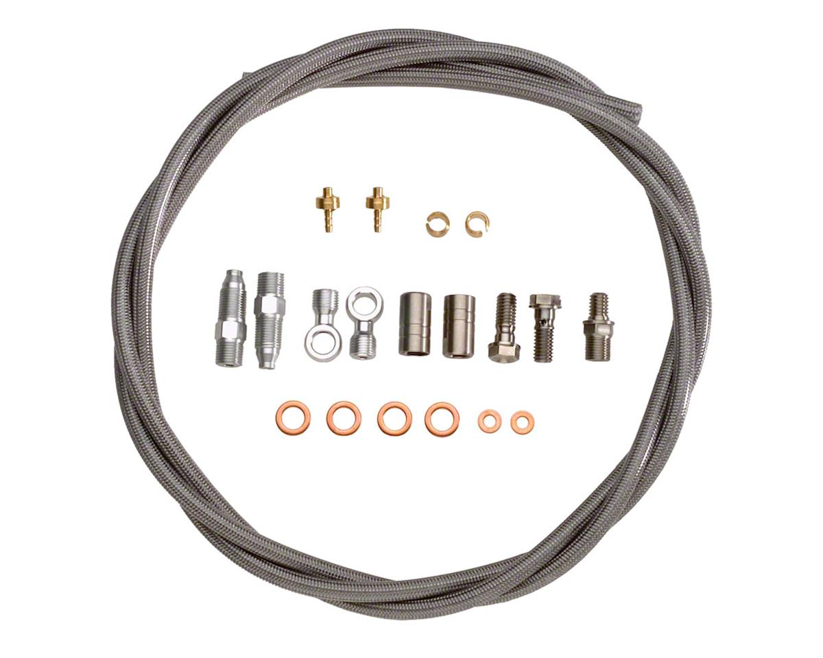 Hope Stainless Hose Kit by Goodridge w/ Fittings