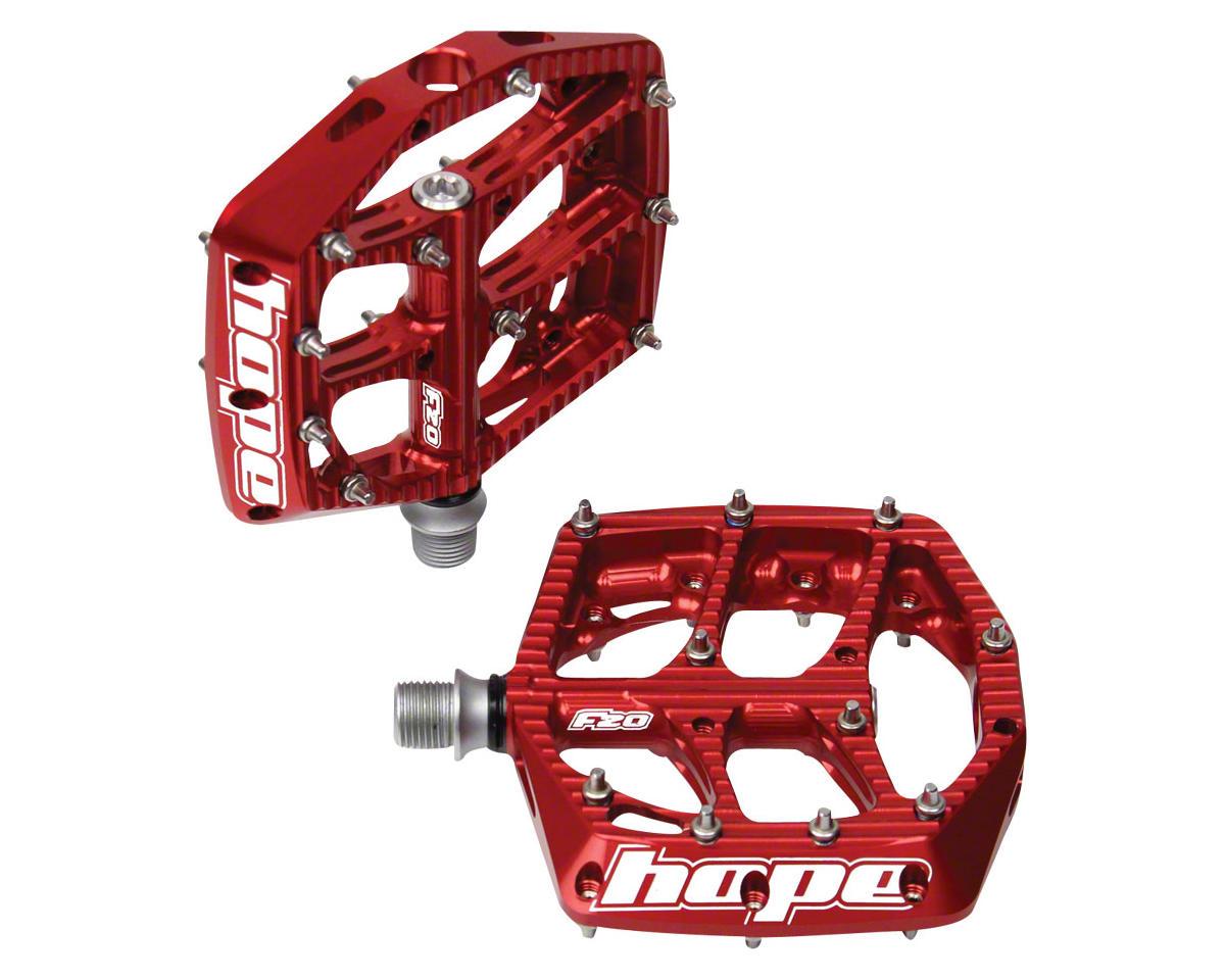 Hope F20 Platform Pedal (Red)
