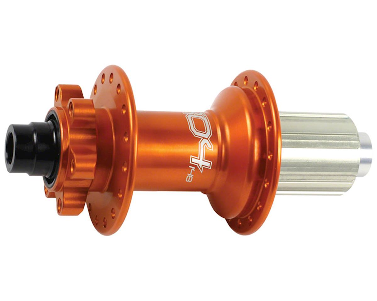Hope Pro 4 Rear Disc Hub (Orange) (32H) (12x142mm Boost)