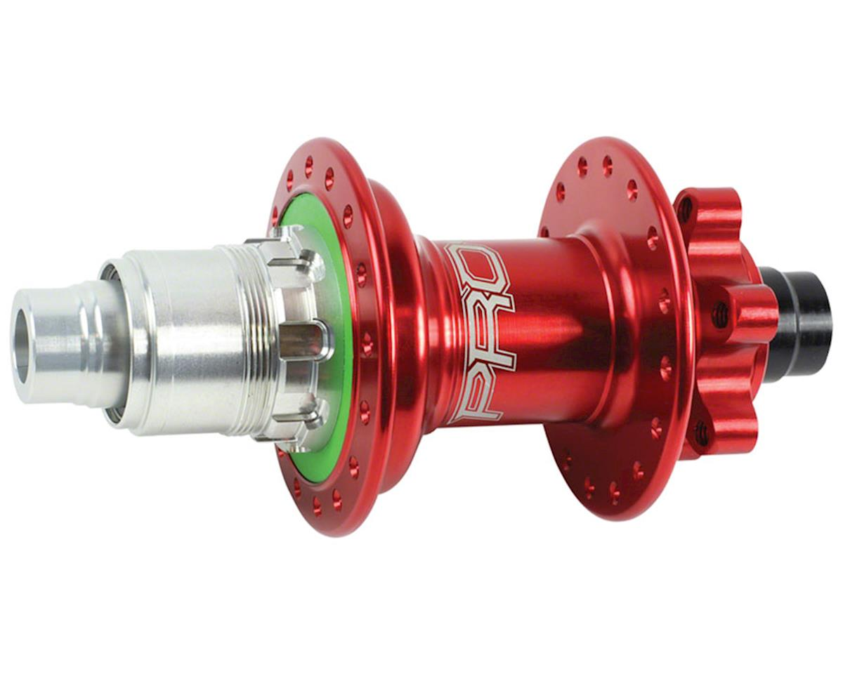 Hope Pro 4 Rear Disc Hub (Red) (32H) (12x142mm Boost)