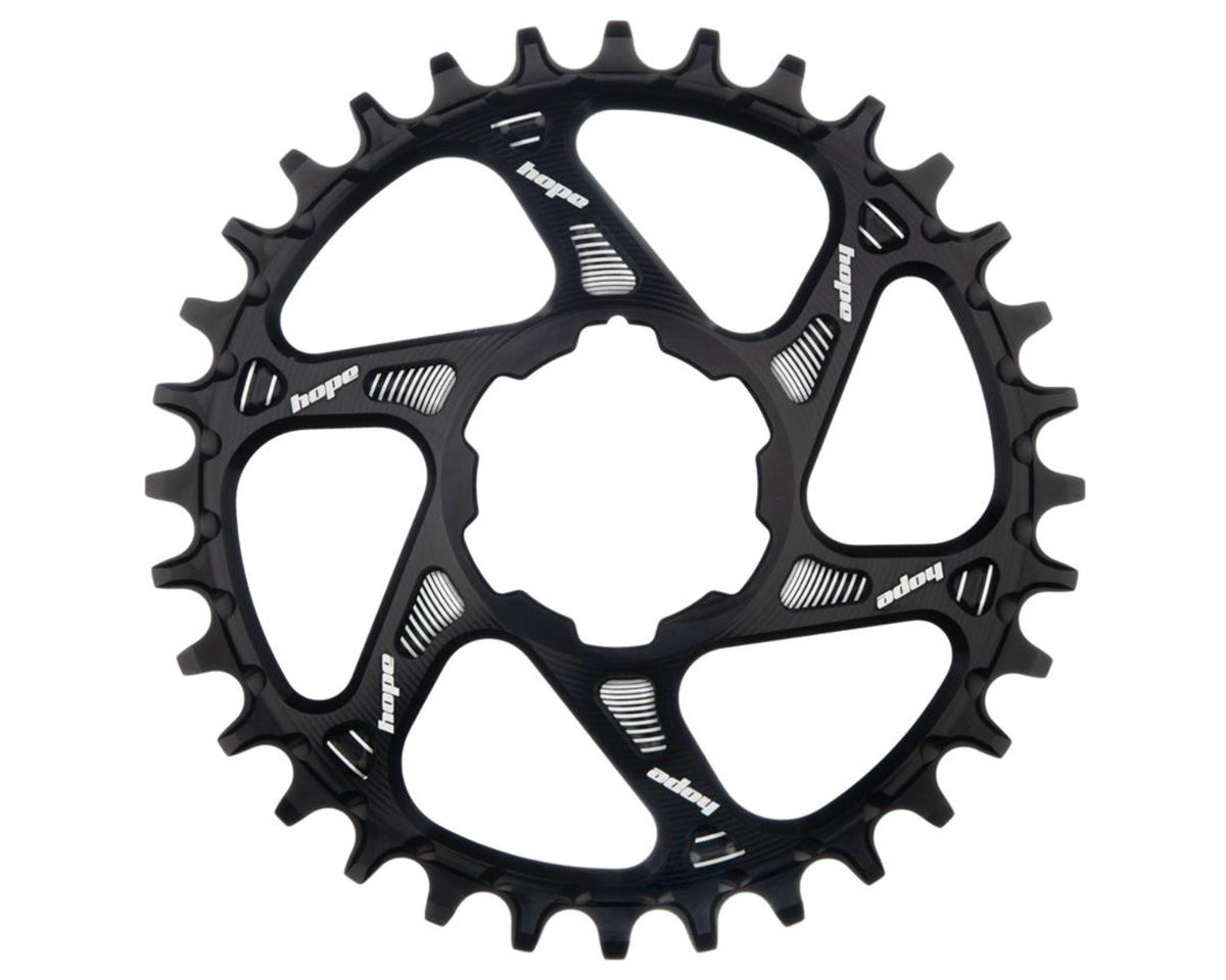 Hope Spiderless Retainer Chainring (Black) (for Hope Cranksets) (28T)
