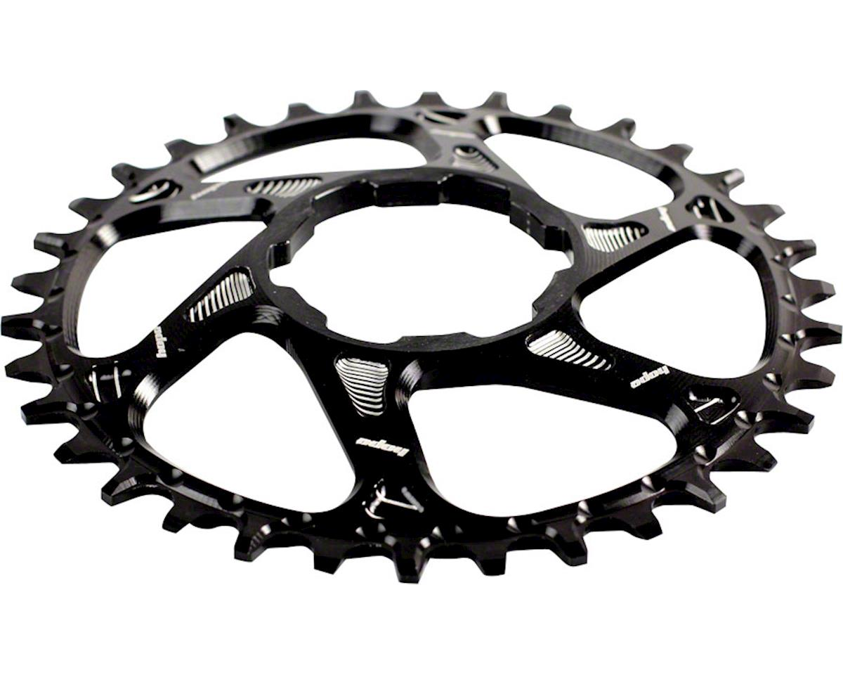 Hope Spiderless Retainer Chainring (Black) (for Hope Cranksets) (34T)