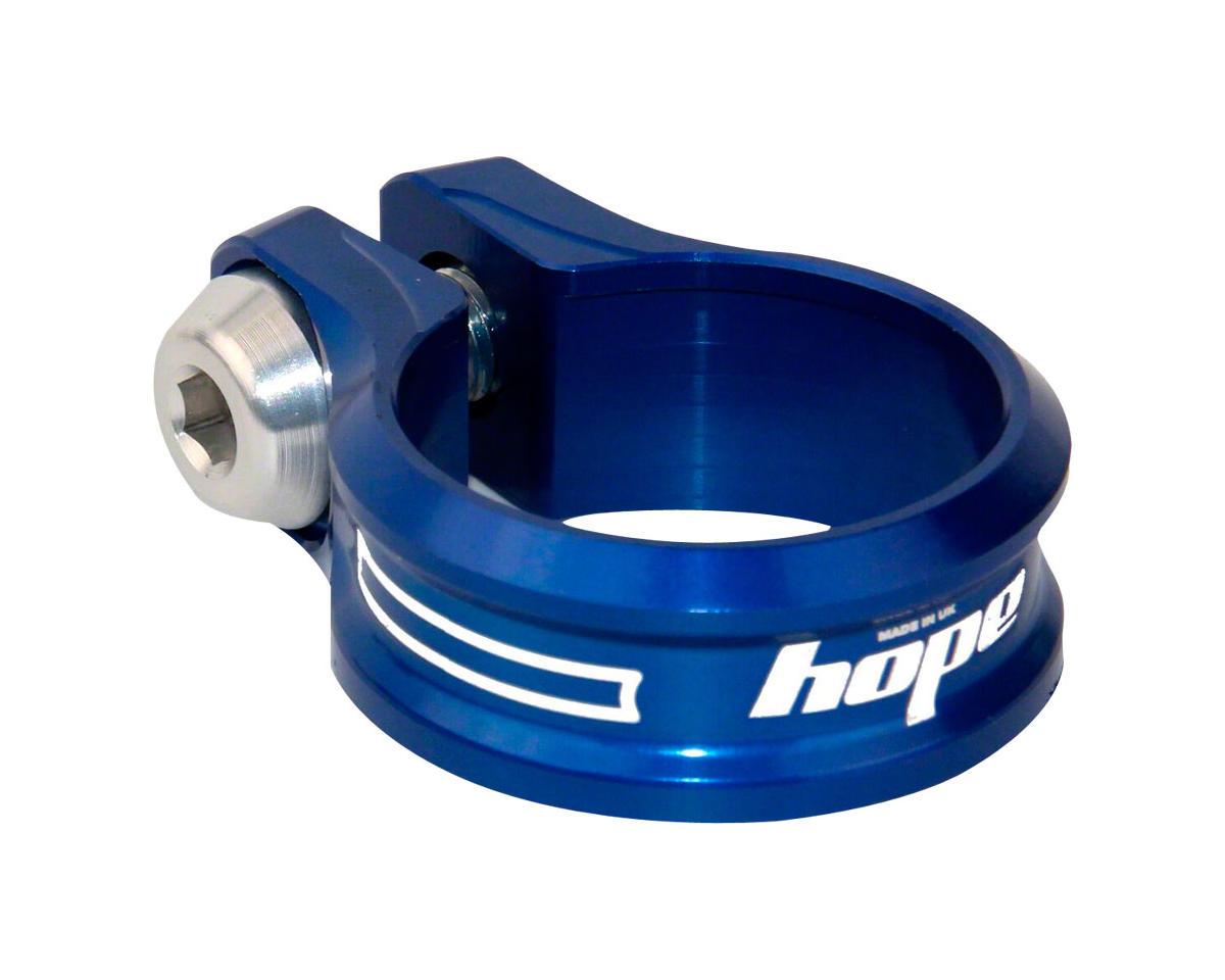 Hope Bolt Seat Clamp (Blue) (31.8mm)