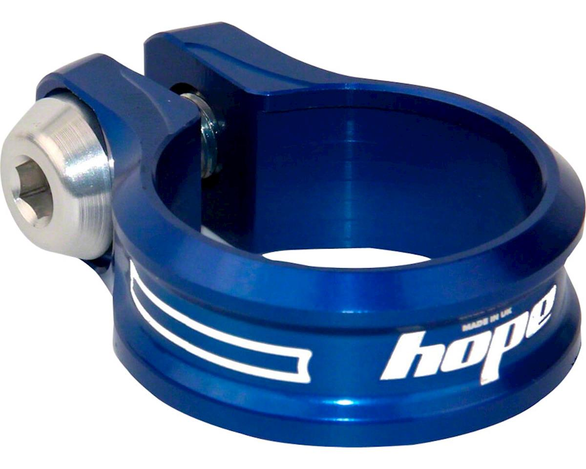 Hope Bolt Seat Clamp (Blue) (34.9mm)