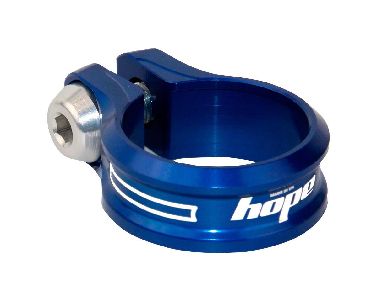 Hope Bolt Seat Clamp (Blue) (34.9mm)