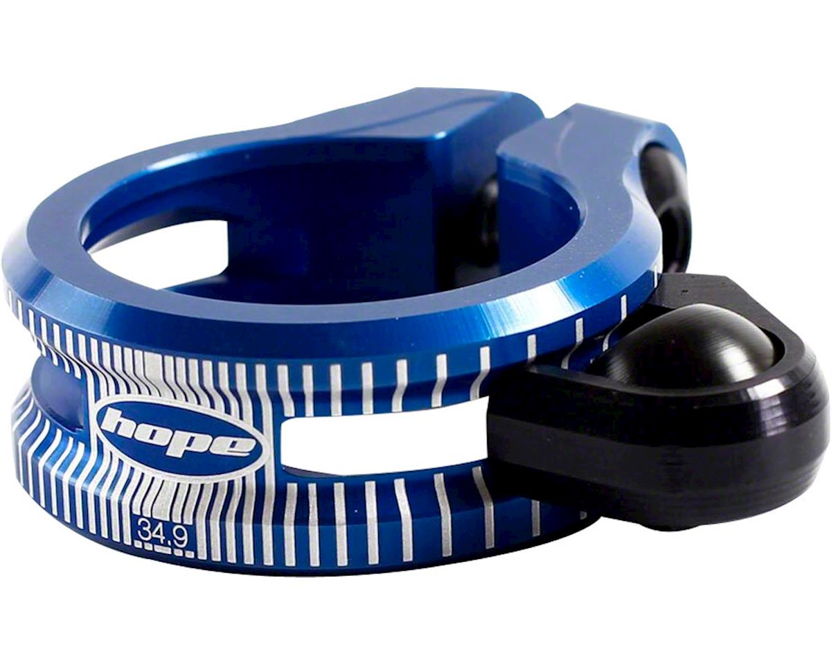 Hope Dropper Seat Clamp (Blue) (34.9mm)