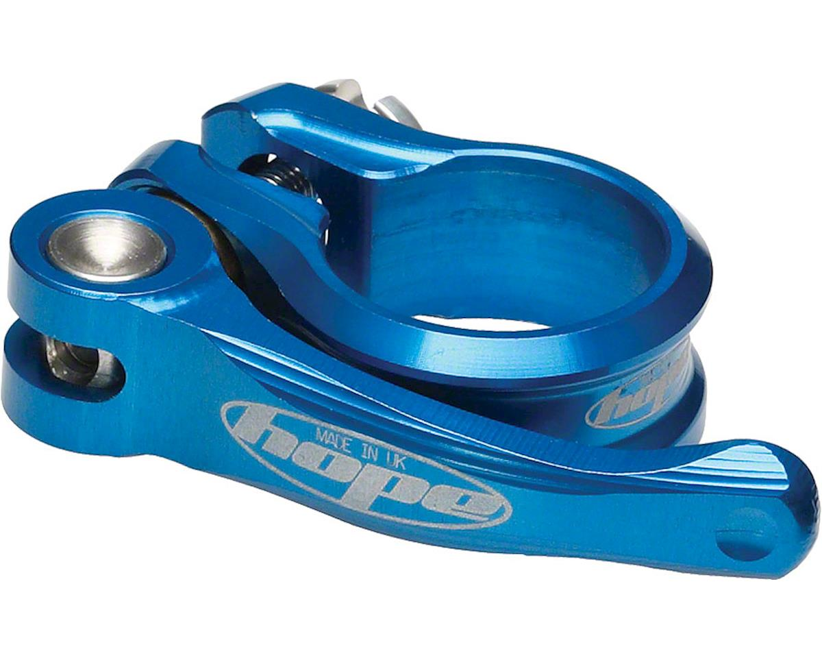Hope QR Seatclamp (Blue) (34.9mm)