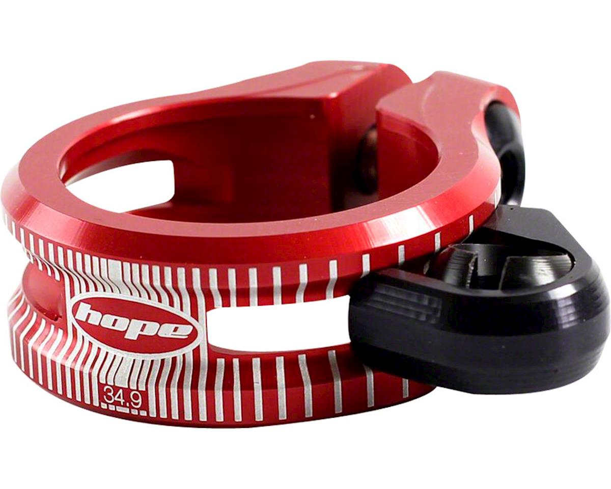 Hope Dropper Seat Clamp (Red) (34.9mm)