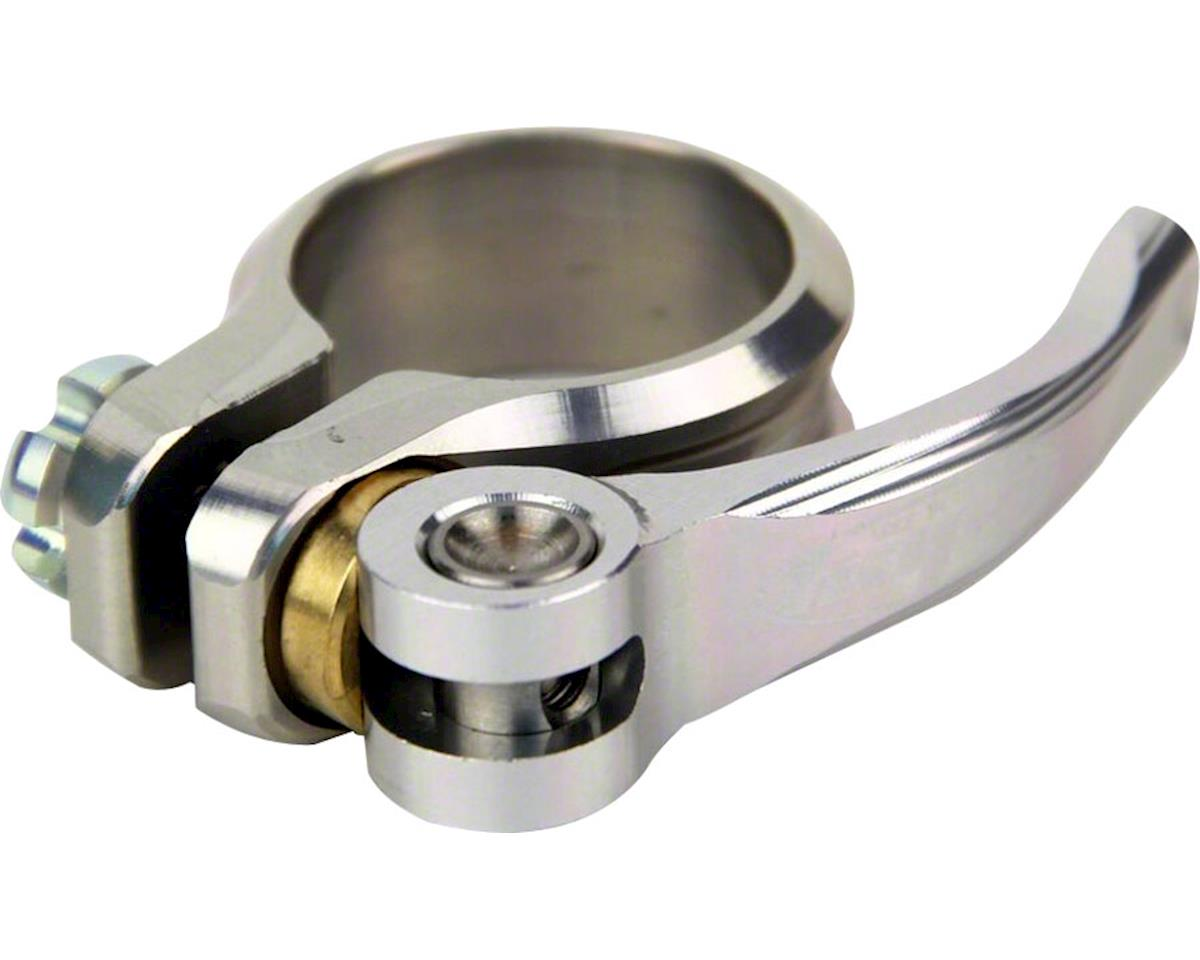 Hope QR Seat Clamp (Silver) (31.8mm)