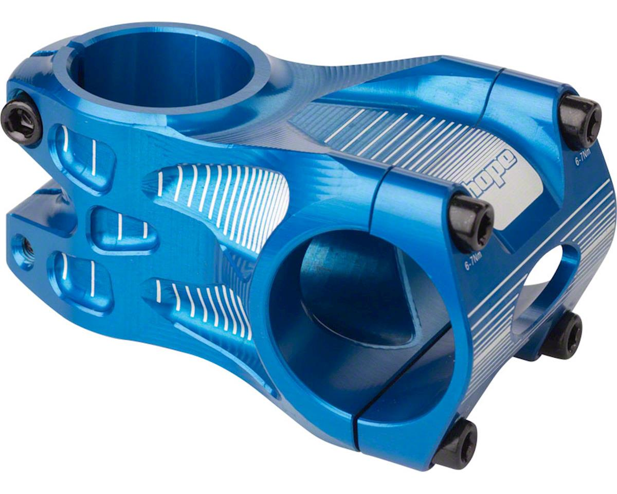 "Hope Freeride Stem (Blue) (50mm) (+/- 0°) (1-1/8"" Threadless)"
