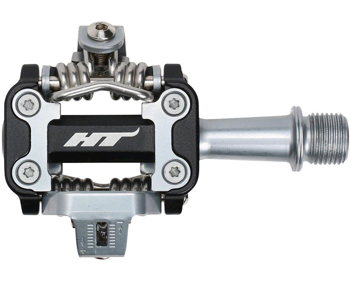 "M1 Aluminum Clipless Pedal: 9/16"" Black"