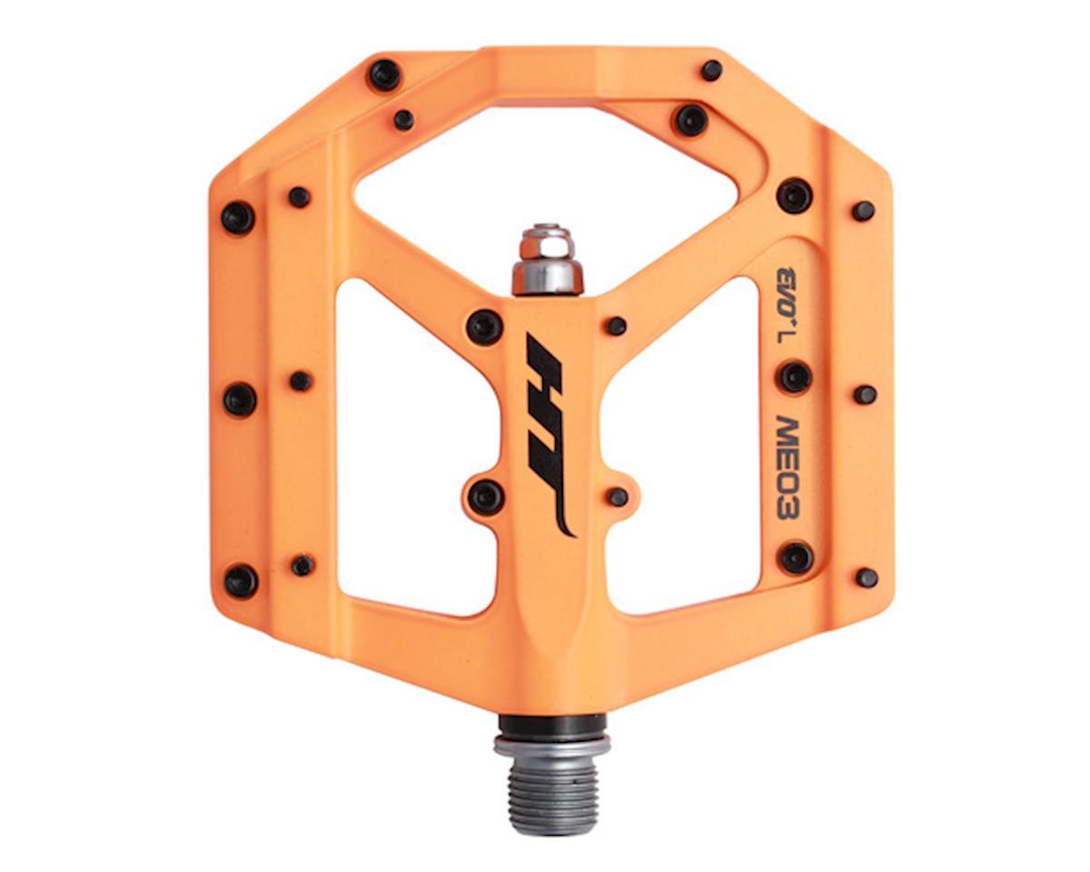 HT ME03 Evo Platform Pedals (Neon Orange) (CrMo)
