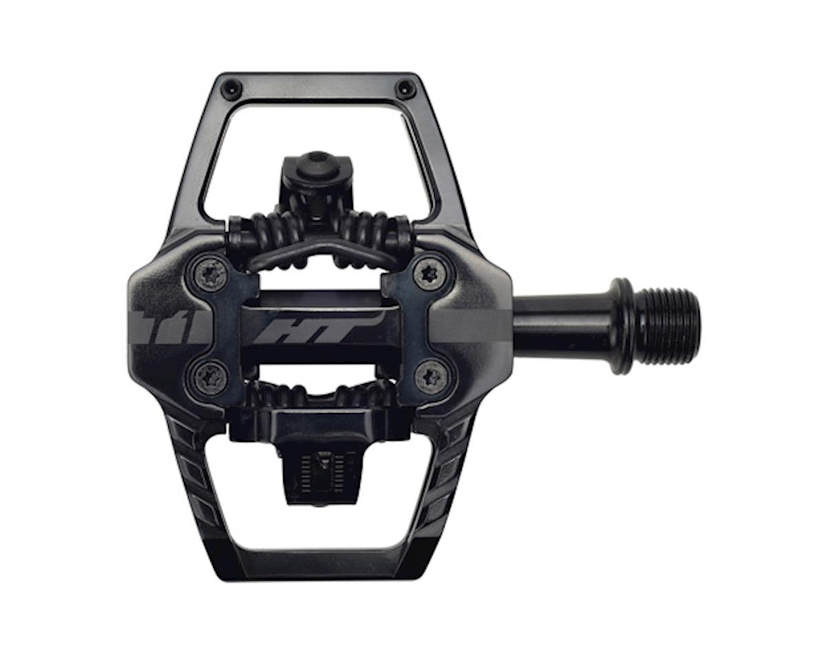 HT T1 Clipless Platform Pedals (Stealth Black) (CrMo)