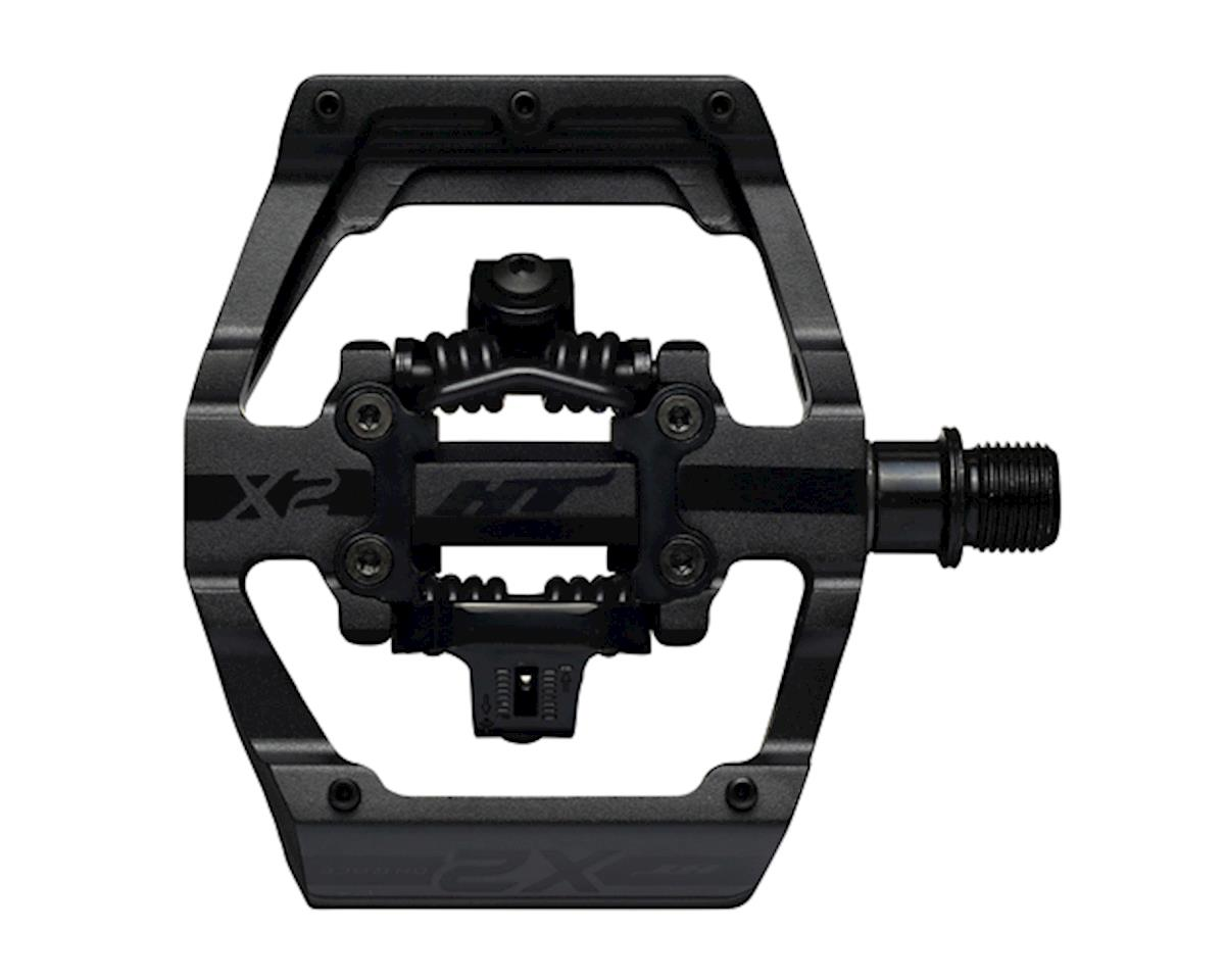 HT X2 Clipless Platform Pedals (Stealth Black) (CrMo)