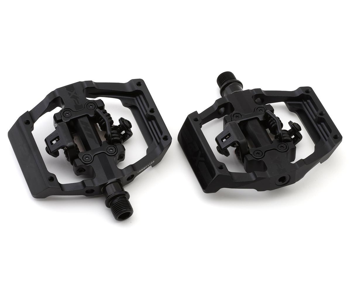 HT X2 Clipless Platform Pedals (Stealth Black) (CrMo)