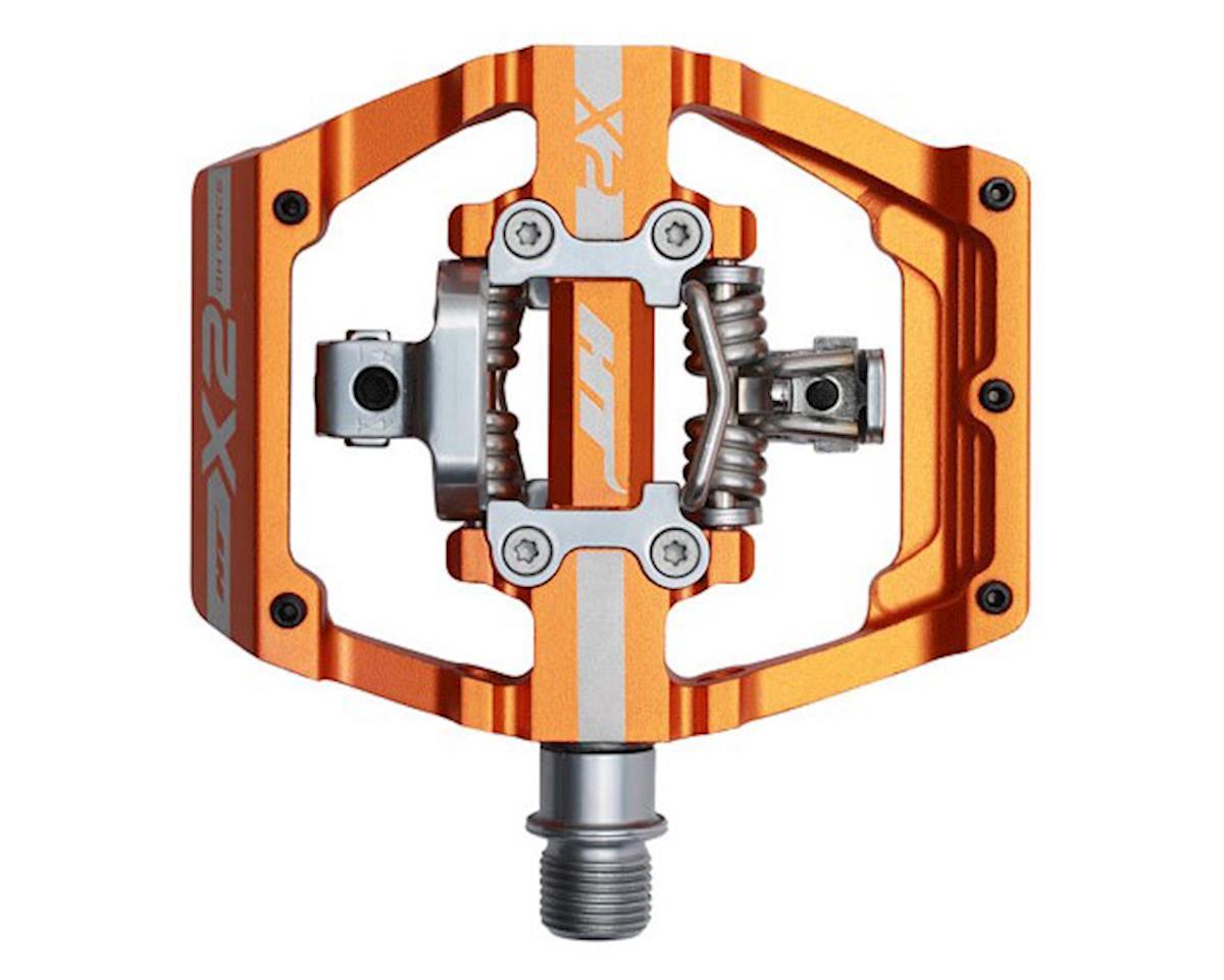 HT X2 Clipless Platform Pedals (Orange) (CrMo)