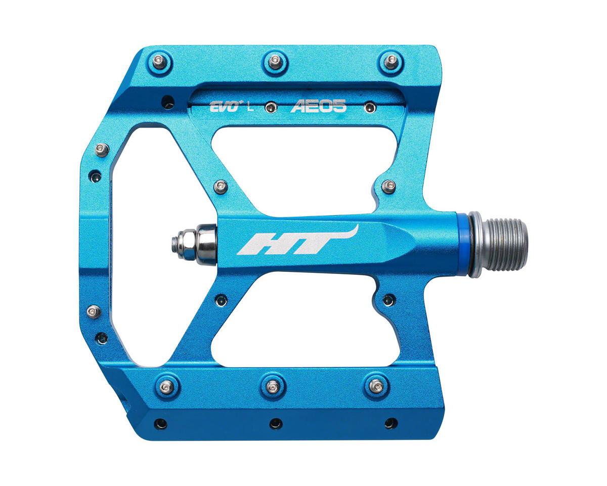 "AE05 (Evo+) Platform Pedal: 9/16"" Marine Blue"