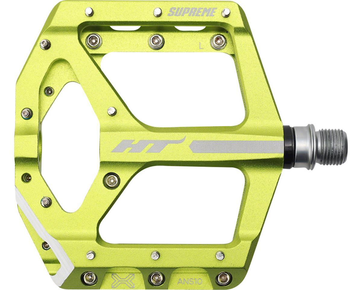 "ANS10 Supreme  Platform Pedal: 9/16"" Apple Green"