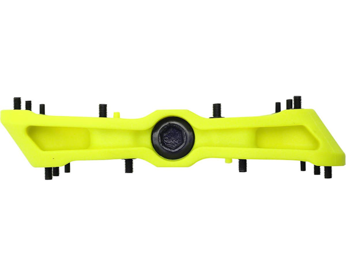 "Image 4 for HT PA03A Platform Pedal: 9/16"" Neon Yellow"