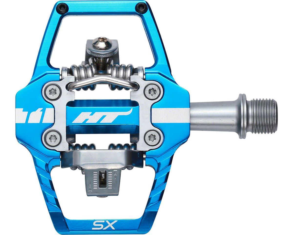 "T1-SX Clipless Pedal: 9/16"" Marine Blue"