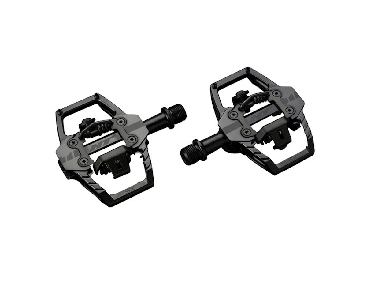 "T1-SX Platform/Clipless Pedal: 9/16"" Stealth Black"