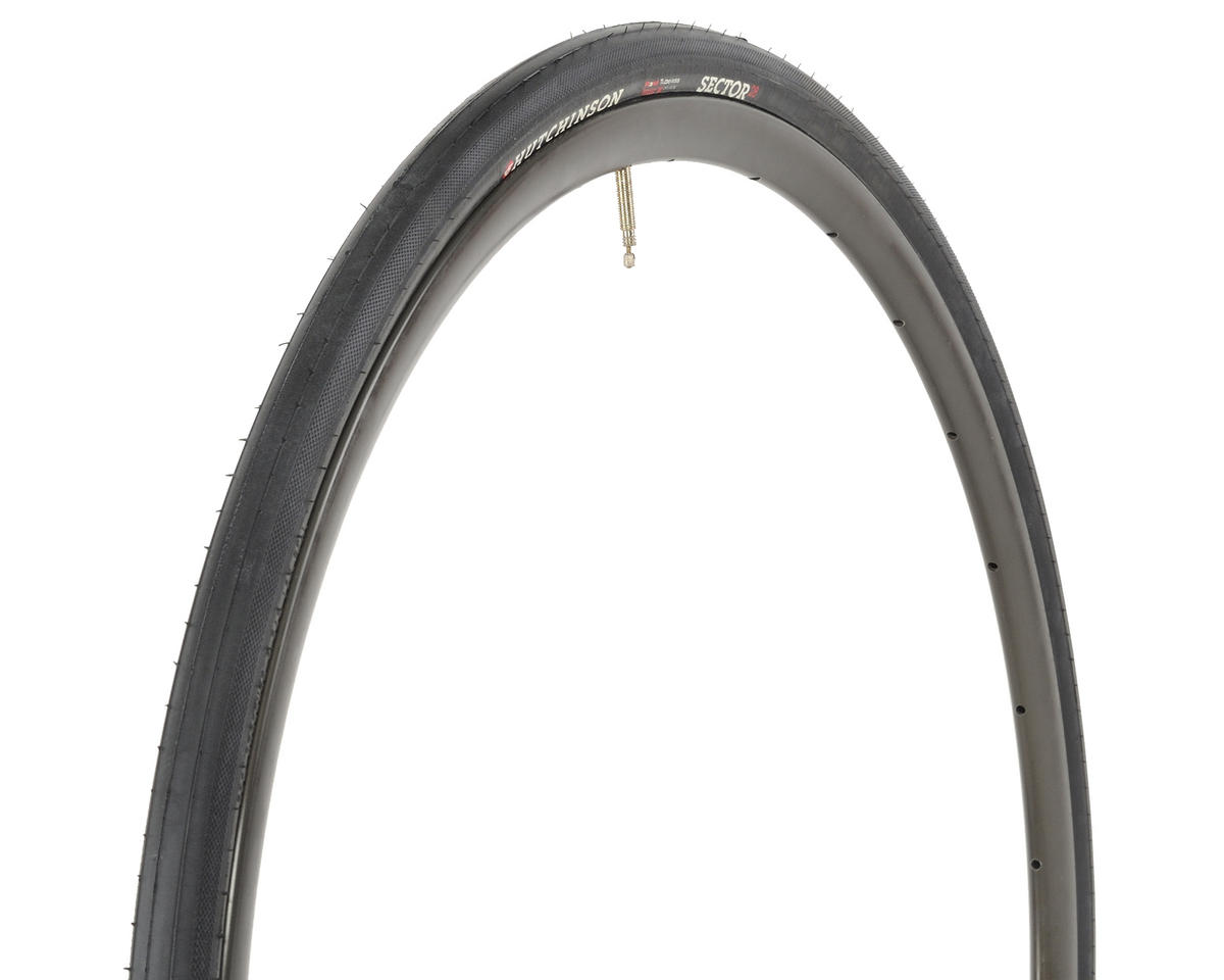Hutchinson Sector 28 Tubeless Road Tire (Black) (700 x 28)