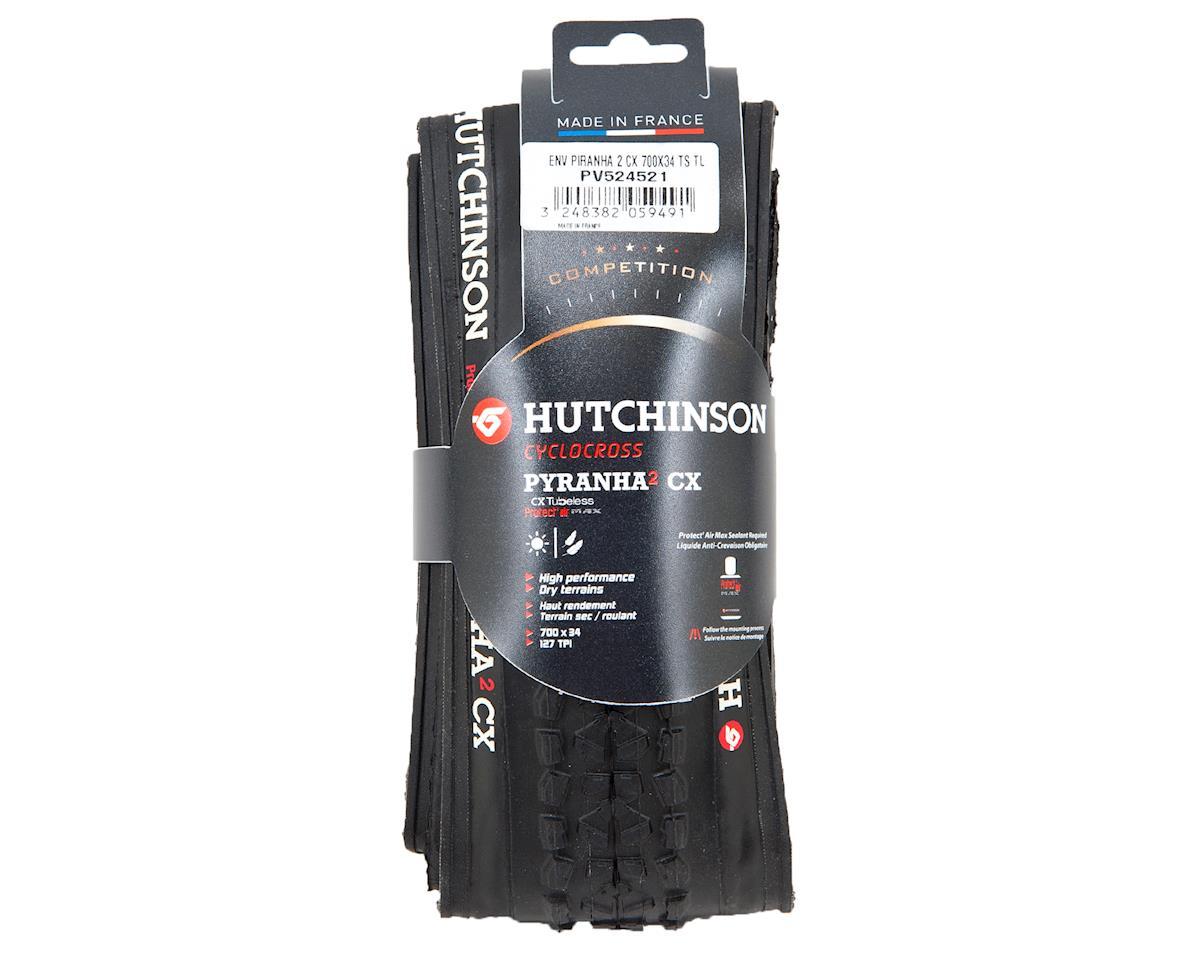 Hutchinson Piranha CX Tubeless Ready Tire  (Black) (700 x 34)