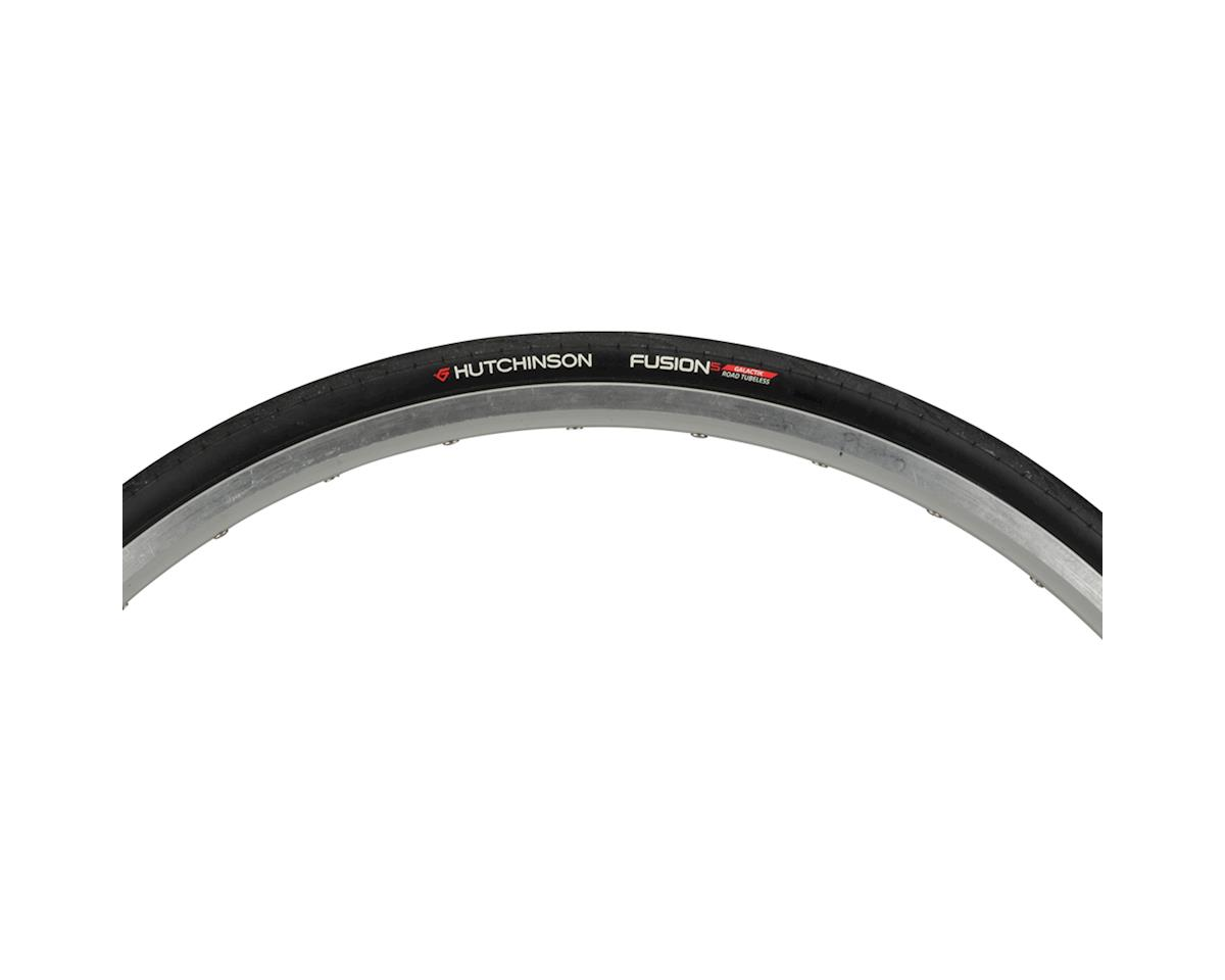 Hutchinson Fusion 5 Galactik Tubeless Road Tire (Black) (700C X 23)