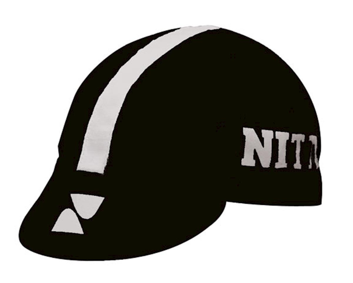 IDG Nitto Cycling Cap (Black/White)