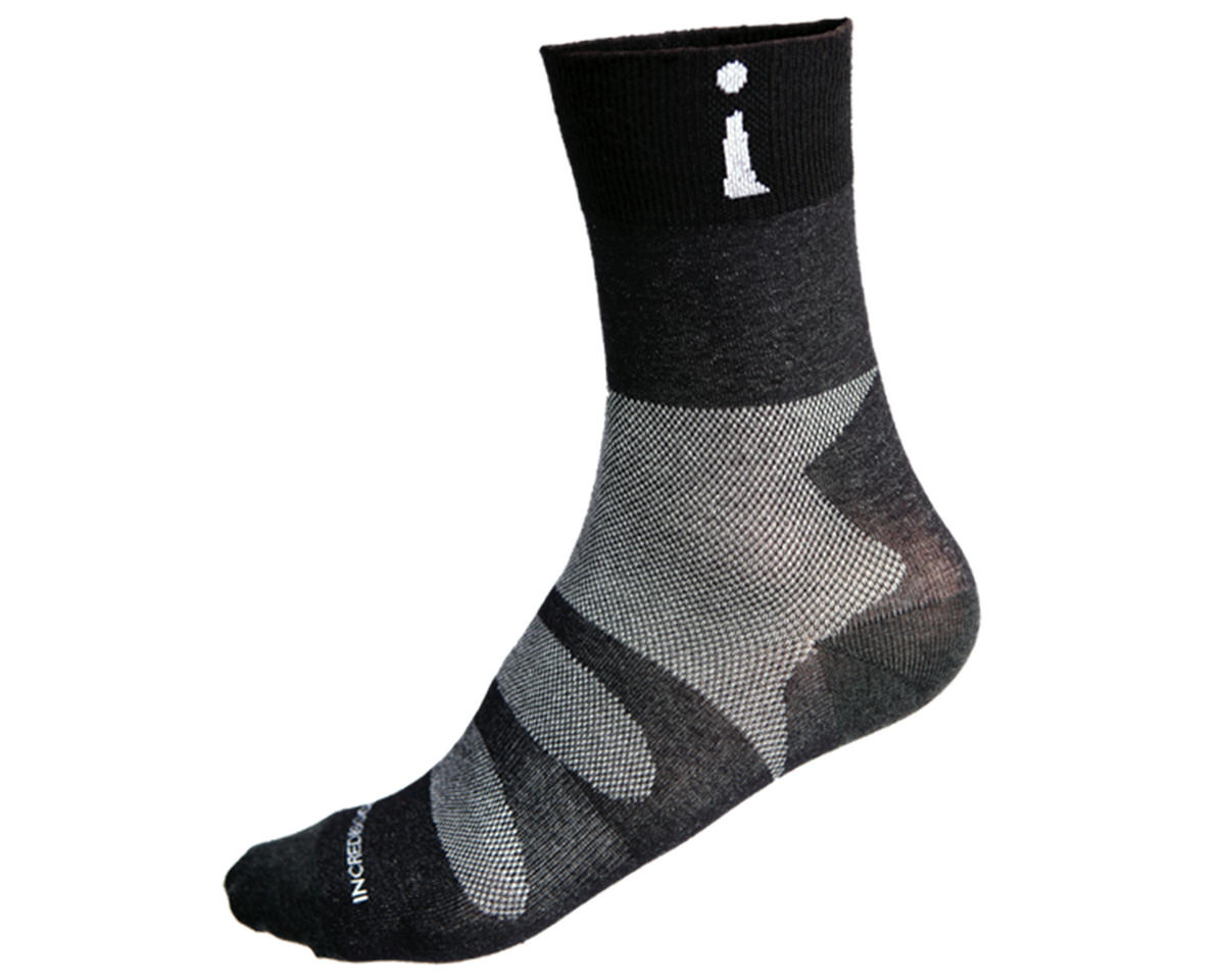 PRO-3 Cut Above Thin Sports Socks (Black)
