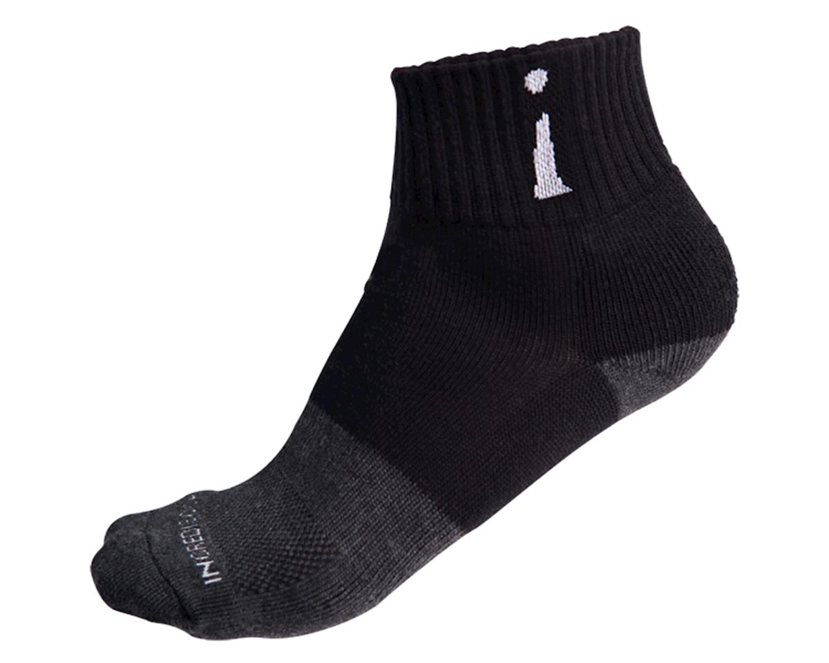 Above Ankle Sports Socks (Black)