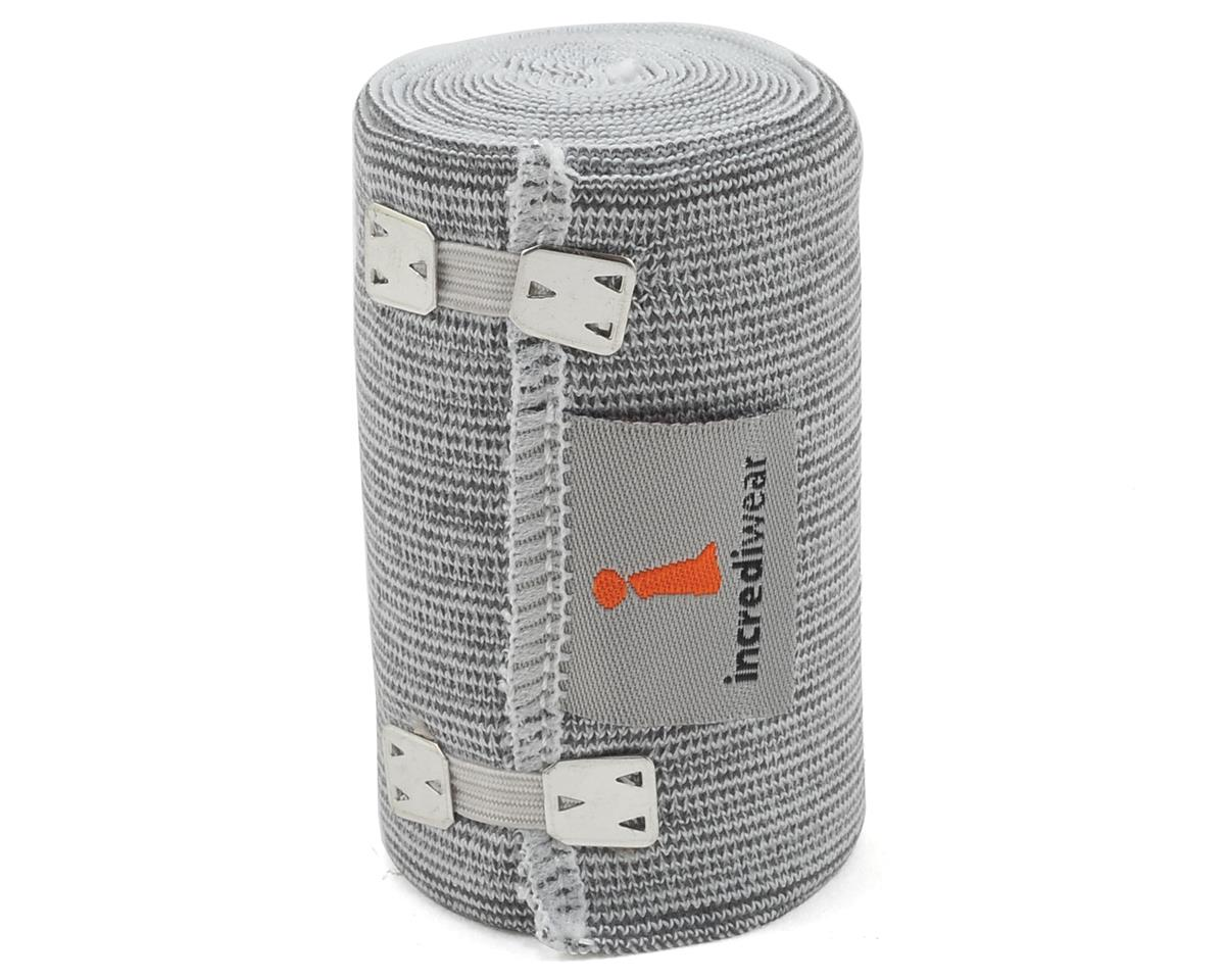 "Incrediwear 3"" Wide Bandage Wrap (Grey)"