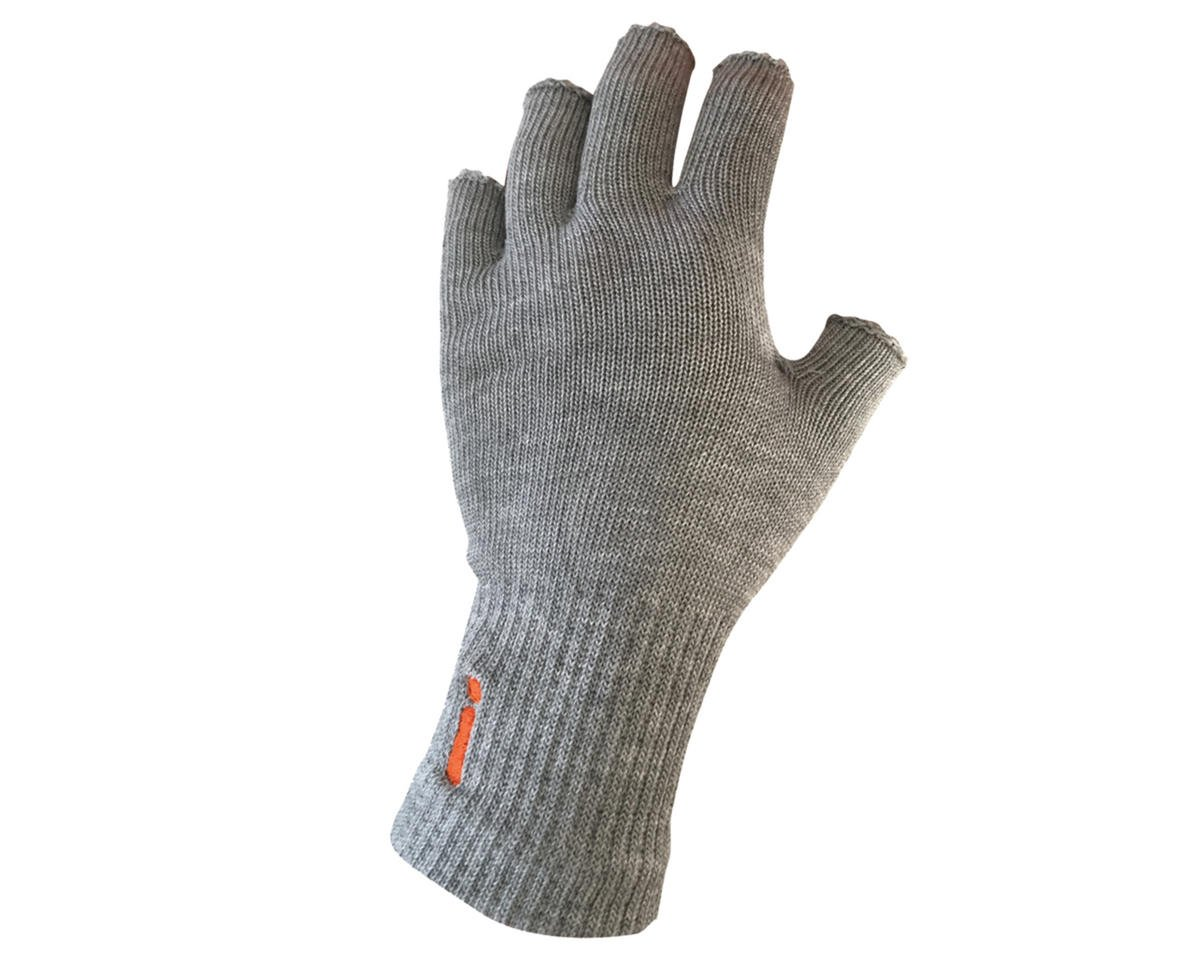 Fingerless Circulation Gloves (Grey)