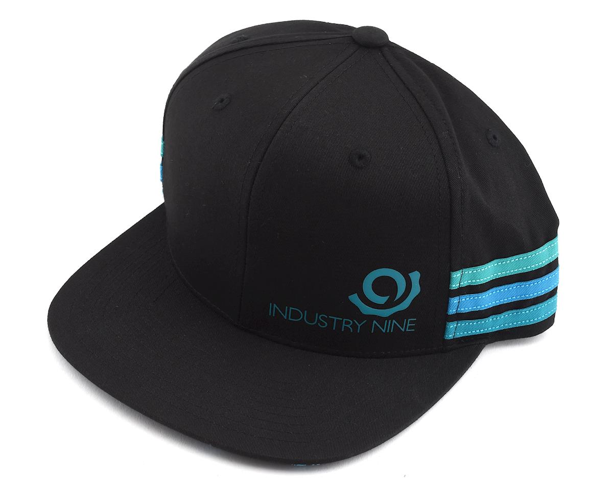 Industry Nine Podium Hat (Black/Teal)