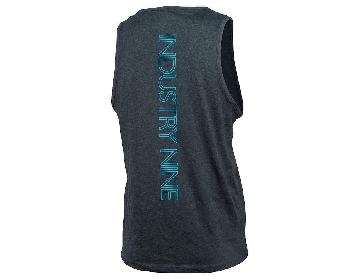 Industry Nine Logo Tank Men's (Grey/Blue) (L)