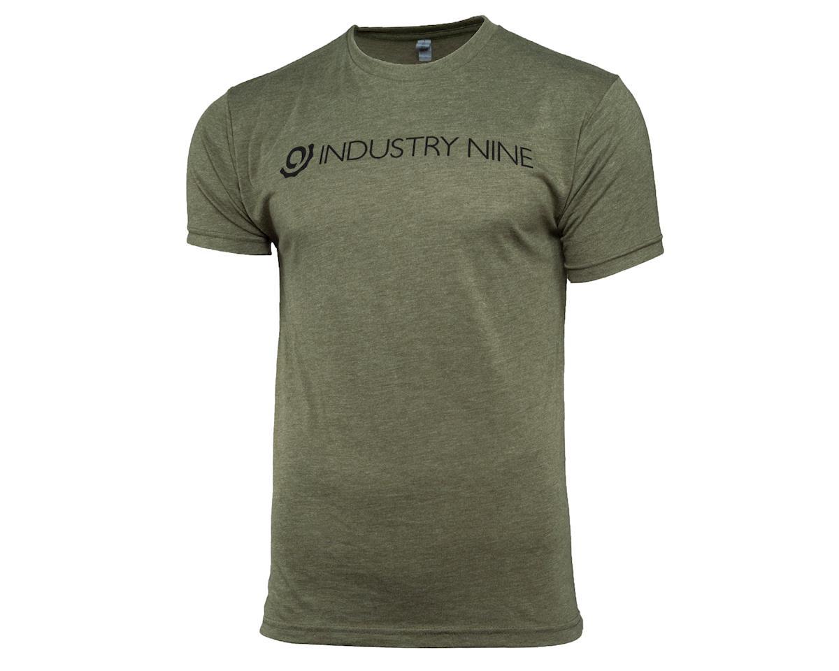 Industry Nine Men's Logo T-Shirt 2018 (Green) (L)