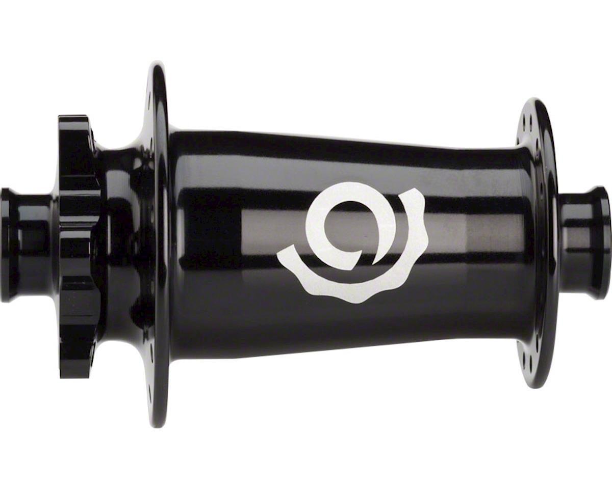 Industry Nine Torch Classic MTB Front Hub: 15mm x 110mm Thru Axle, Black, Boost,