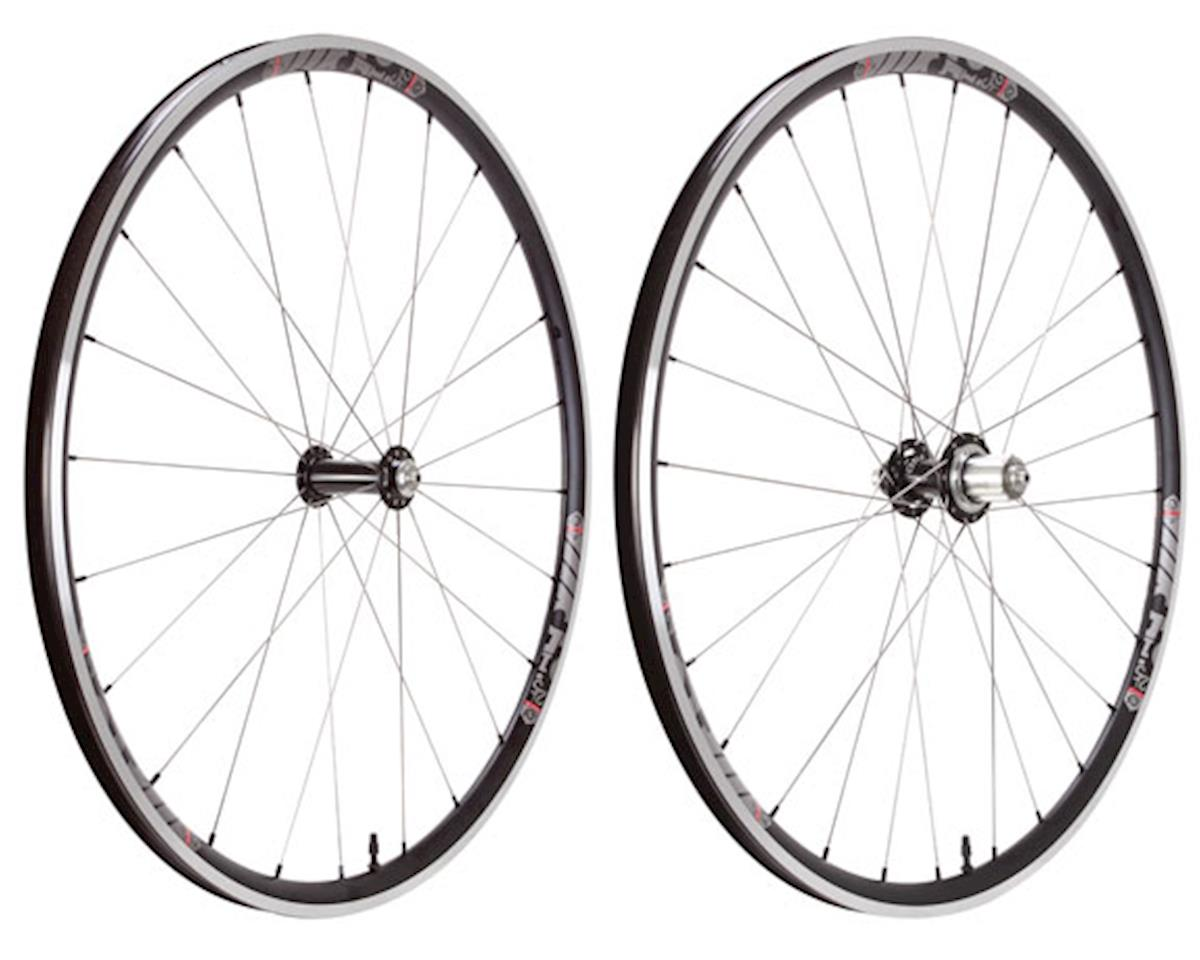 Industry Nine i25TL Classic 700c Wheelset (Black/Silver) (HG 9-11 Speed)