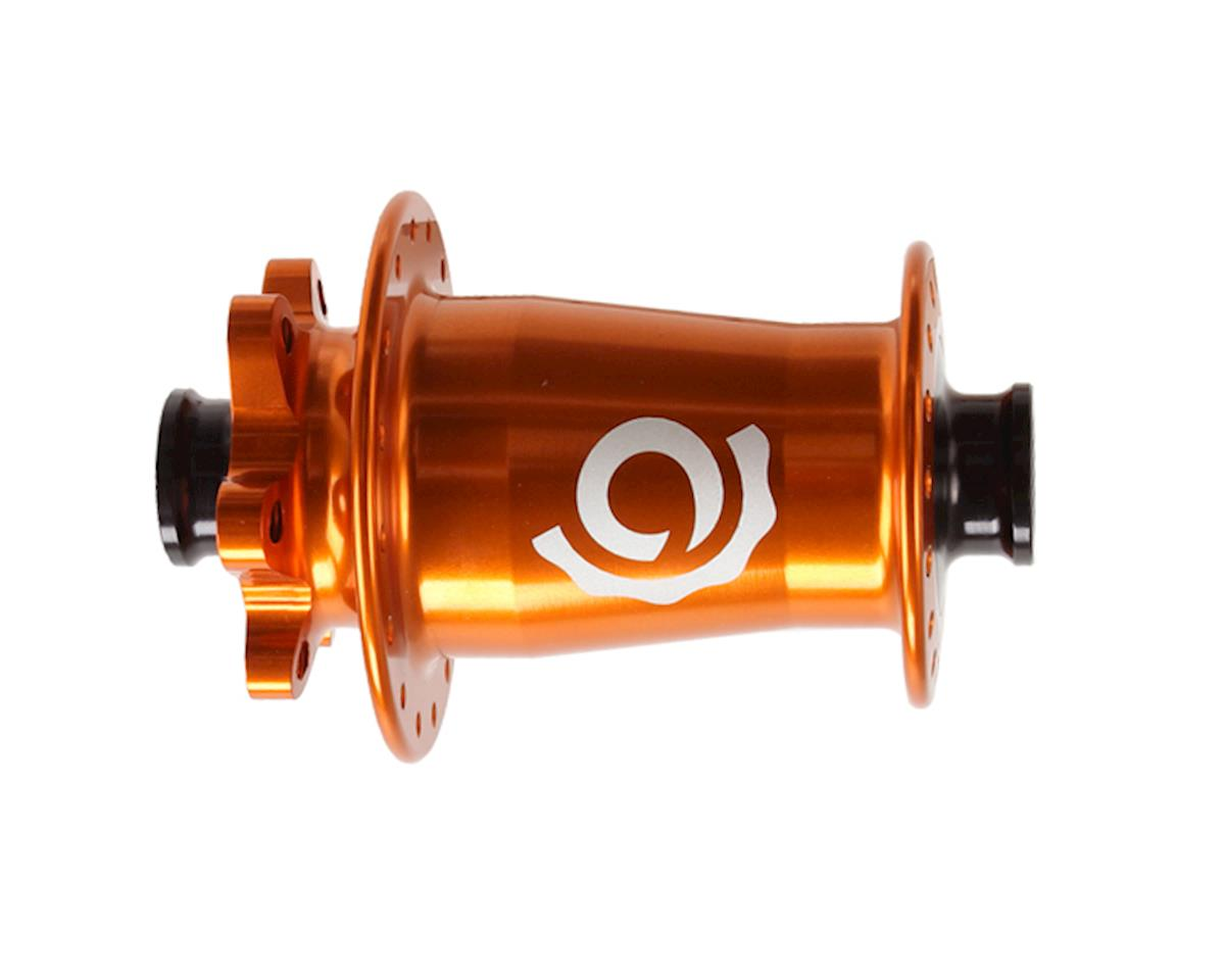 Industry Nine Torch Front Thru Axle Hub (Orange) (100 x 15mm) (32H) (6-Bolt)