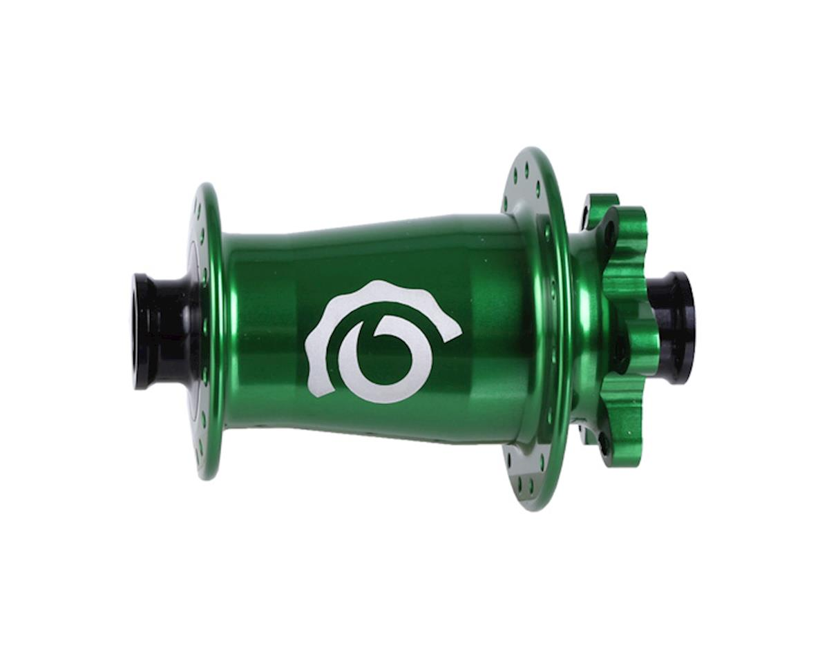 Industry Nine Torch Front Thru Axle Hub (Green) (15 x 100mm) (32H)