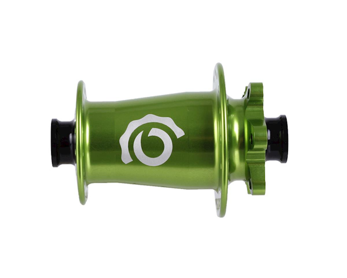 Industry Nine Torch Front Thru Axle Hub (Lime) (15 x 100mm) (32H)